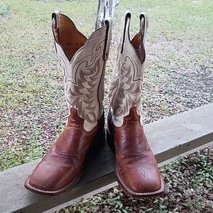 Men's Tony Lama Square Toes Boots